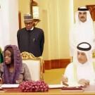 Buhari & Aeosun in Qatar
