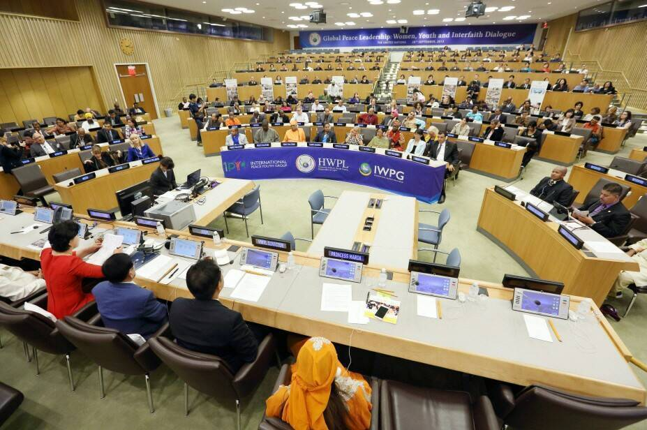 HWPL is hosting the Global Peace LeadershipConference at UN Headquarters
