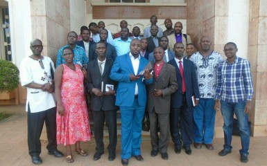 Participants of the second WARP OFFICE inRwanda