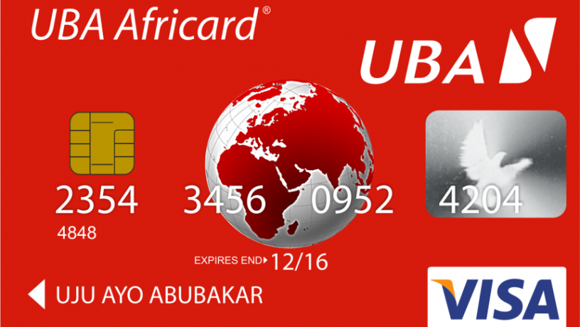 UBA Prepaid card marketing BIN