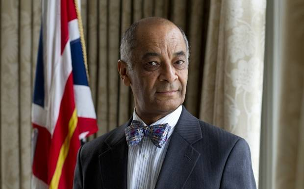 Mcc0066371 . DailyTelegraph    Ken Olisa, the first black Lord-Lieutenant of Greater London and soon tone announced most powerful black man in Britain .  London 16 November 2015