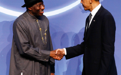 Ex -President Goodluck Ebele Jonathan & President Obama at Obama Hosts World Leaders on Nuclear Power