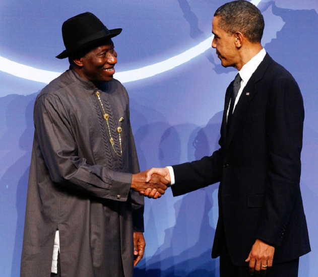 Ex -President Goodluck Ebele Jonathan & President Obama at Obama Hosts World Leaders on Nuclear Power