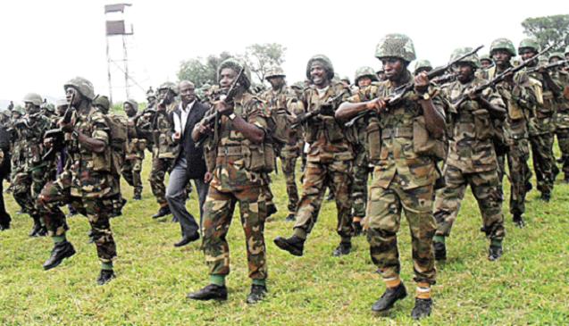 Pic: Nigeria Army on Parade