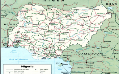 Nigeria maritime boundaries