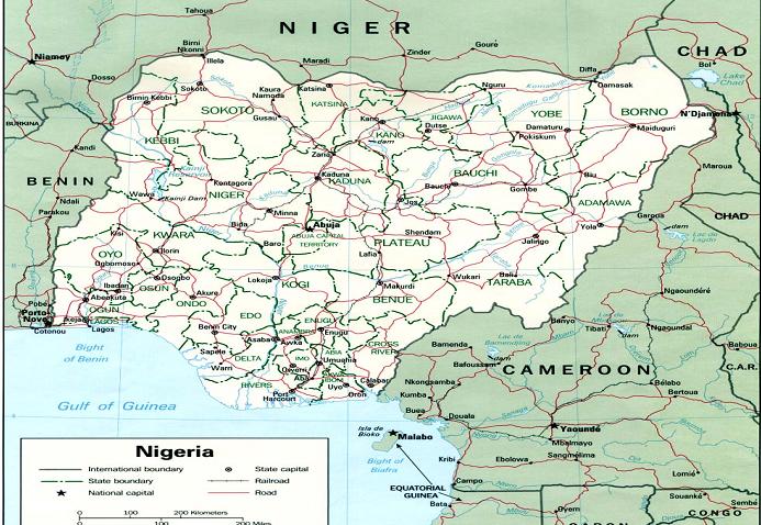 Nigeria maritime boundaries