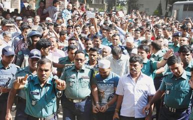 Six sentenced to death for brutal Bangladesh child